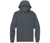 Lo Road Hooded T-Shirt LS castlerock