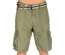 Point Break Cargo Shorts olive leaves