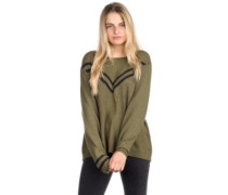 Town Crew Pullover burnt olive