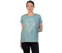 Greenland Printed T-Shirt frost green