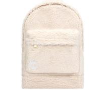 Shearling Backpack natural