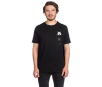 X Felix The Cat Watching Pocket T-Shirt black