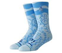 Kevin Lyons Wave Socks blue