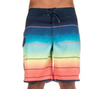 "73X Stripe 19"" Boardshorts orange"