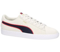 Suede Classic Sport Stripes Sneakers ribbon red
