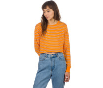 Hannah Long Sleeve T-Shirt yellow stripe