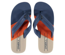 Imprint Punch Sandals alert orange