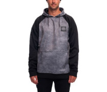 Knockout Bond Fleece Pullover charcoal wash