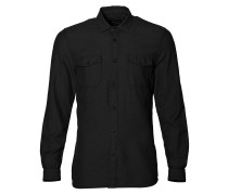 Freestone Shirt LS dark grey melee