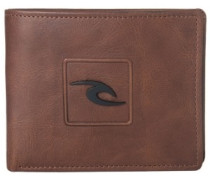 Rider RFID 2 In 1 Wallet brown