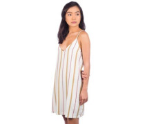 Fluke Stripe Dress off white