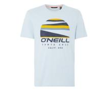 Sunset Logo T-Shirt opal cliff blue
