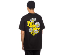 Retro Daisies T-Shirt black