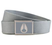 Enamel Wings Belt gray