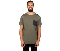 Merino Harvey Pocket T-Shirt olive