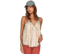 Illusions Of Tie Dye Tank Top mineral green