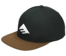Triangle Snapback Cap brown
