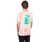 Steam Bath Washed T-Shirt peach