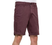 Flex Grip Chino Shorts aubergine