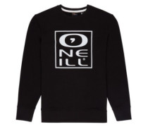 Tonal Crew Sweater black out