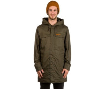 Warrington Parka Jacket black olive