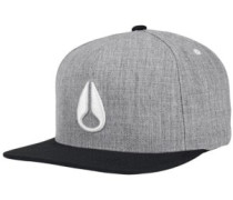 Simon Snap Back Cap white