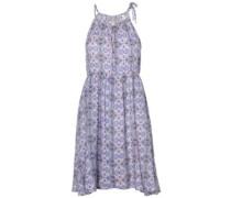 Beach High Neck Dress blue