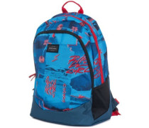 Tri School Poster Vibes Backpack blue