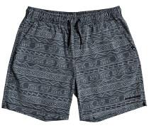 Taxer Print Shorts black tonal heritage