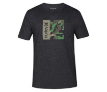Siro One And Only Camo Box T-Shirt black heather