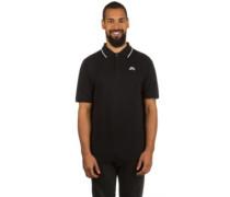 SB Dri Fit Pique Tipped Polo T-Shirt white