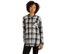 Grace Tech Flannel Shirt LS true black 77 plaid