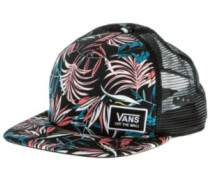 Beach Bound Trucker Cap black california floral