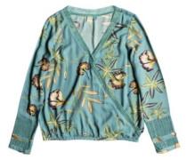 Runaway Success T-Shirt LS trellis bird flower