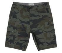 Scheme Cargo Shorts military camo