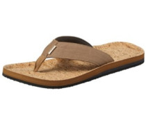Chad Structure Sandals brown aop