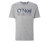 Logo T-Shirt silver melee