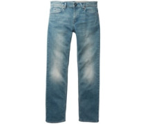 Solver Jeans angled bleach wash