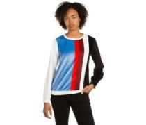 Colourblock Sweater black