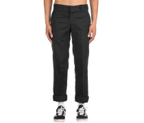 S/Straight Work Pants black