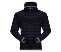 Hollvin Wool Fleece Jacket nightblue strip