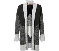Jacquard Cardigan grey