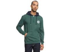 Rebel Half Zip Hoodie hunter green