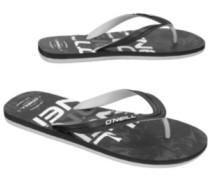 Profile Pattern Sandals black