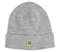 Label Beanie Youth neutral gray heather