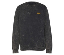 Cipher Crew Sweater black enzyme