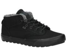 Motley Mid Shoes black fur