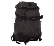 The Explorer Backpack black grid htr