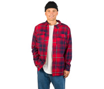 Sherpa Flannel Shirt rainier red