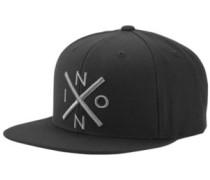 Exchange Snapback Cap dark gray